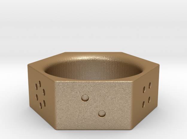 Dice Ring 3d printed