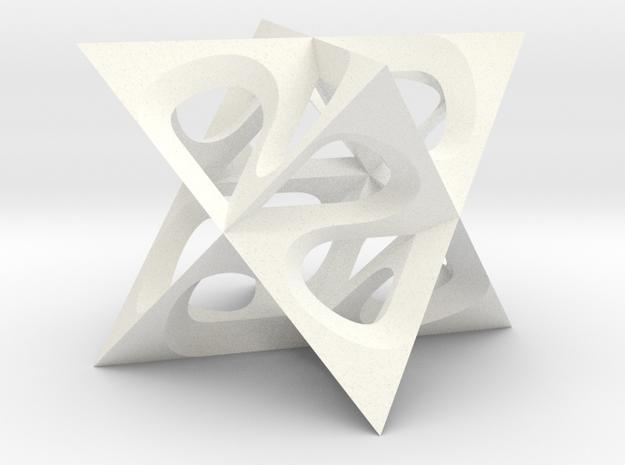 tetrastern varia small 3d printed