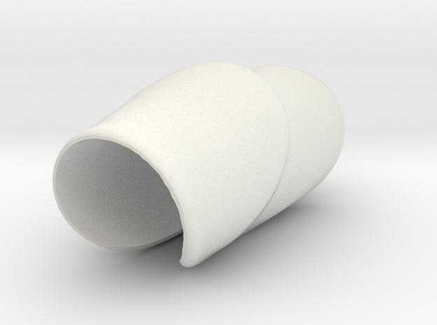 SaddleGrip 23mm in White Strong & Flexible