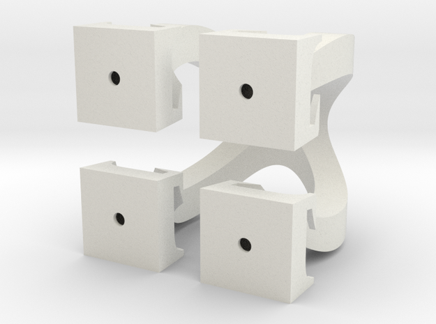Omega Cubed 3d printed