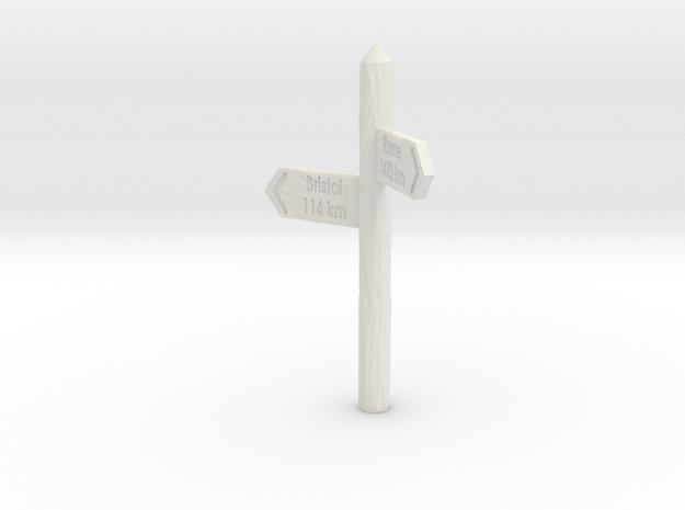 Signpost 3d printed