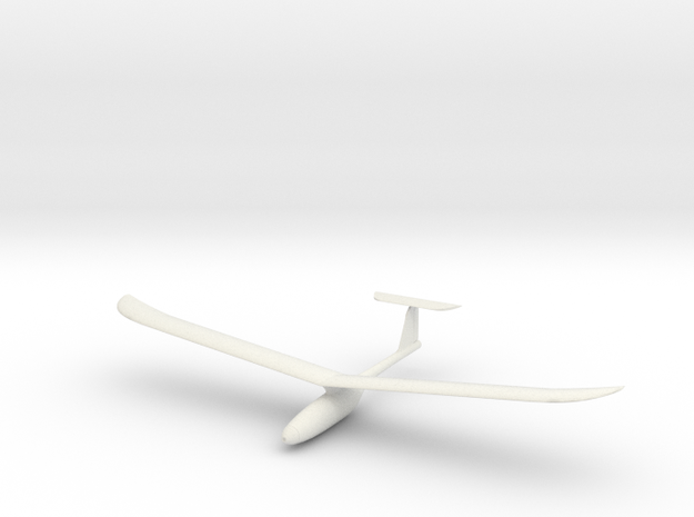 Printed Plane Mini-Me in White Strong & Flexible