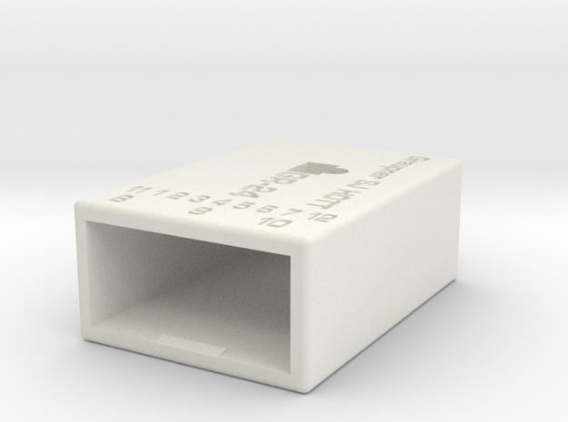 Graupner Gr24 Hott Case in White Natural Versatile Plastic