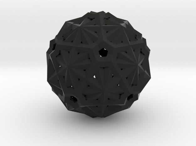 six pentagon dodekas h 3d printed