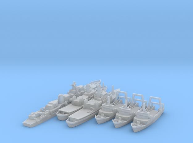 Cod War Set 2+ 1/1250  in Smooth Fine Detail Plastic