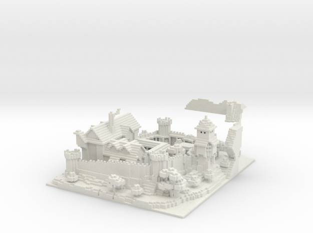 Tale Of Kingdoms Guild Castle 3d printed