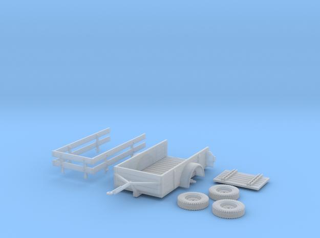 1-Achs Anhänger 1:45 in Smooth Fine Detail Plastic