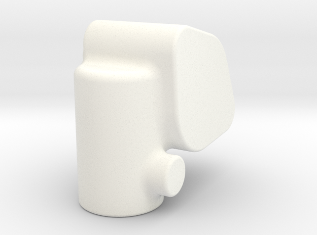 TachDriveGbCasting2 in White Processed Versatile Plastic