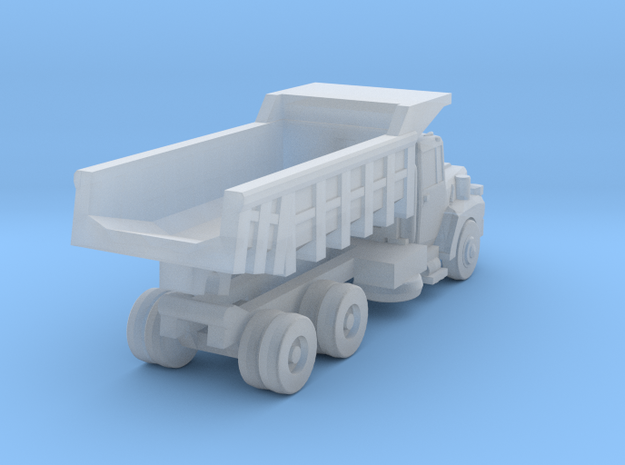 Mack Dump Truck - Nscale in Smooth Fine Detail Plastic