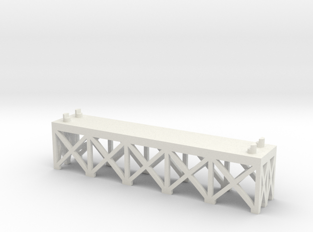 JOINER, DOUBLE TRACK 1/2 INCH in White Natural Versatile Plastic