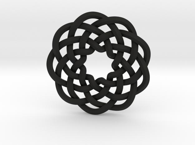 Woven Starburst Pendant 3d printed