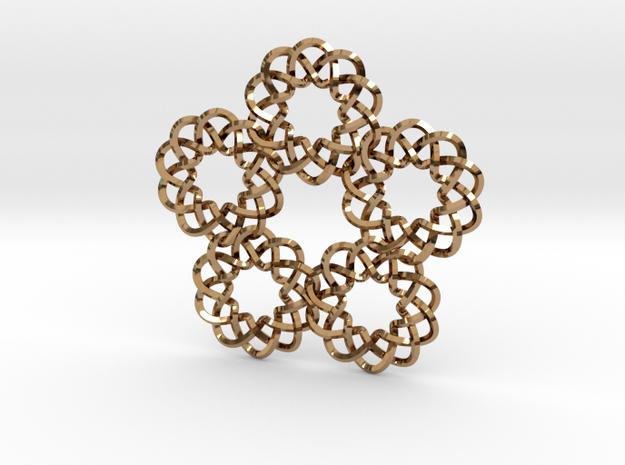Braided Orbit pendant