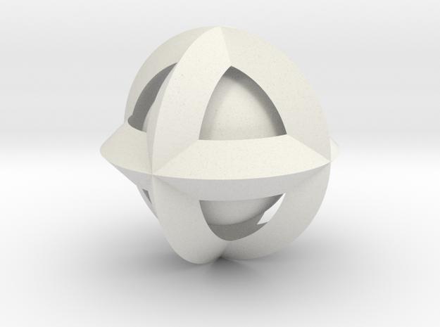 kugel in kegeln 3d printed