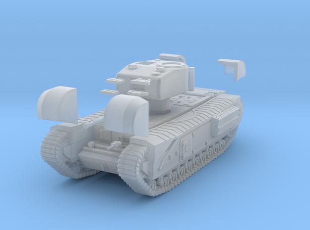 Tank- Churchill Mk IV (1/87th) in Smooth Fine Detail Plastic