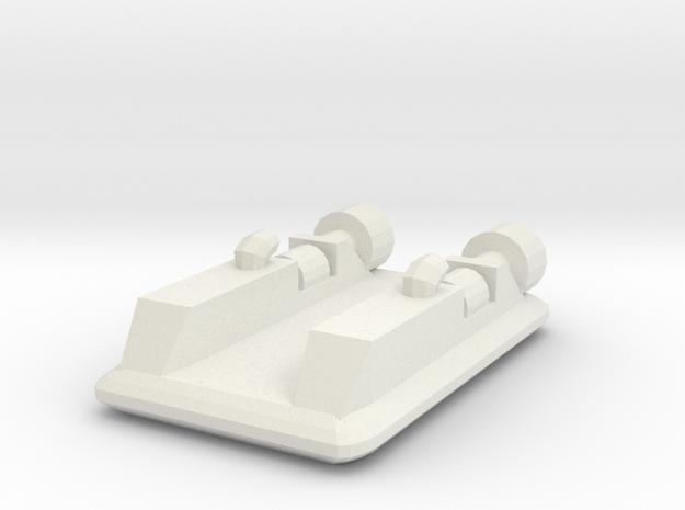Hovercraft 1:700 3d printed