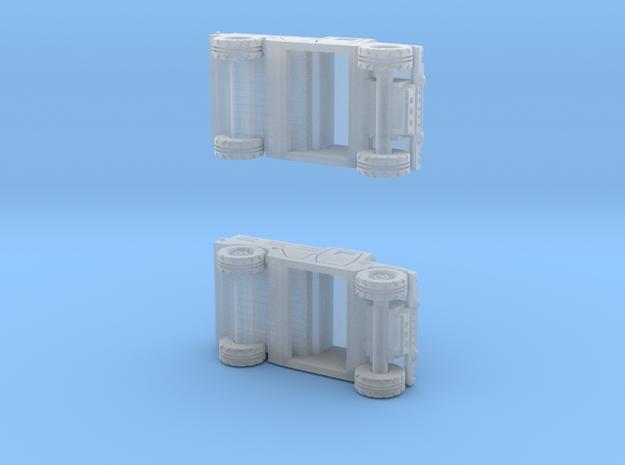 1/144 Humvee Cargo (Dual Pack) 3d printed