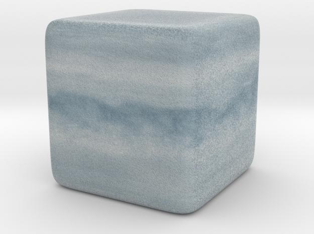 Cube Planet : Uranus, 1inch 3d printed