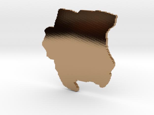 3D SUR Block 3d printed
