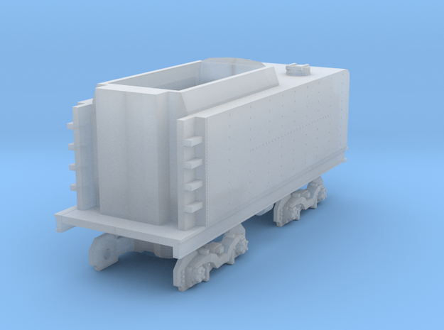 NZR K Coal Tender NZ120 in Smooth Fine Detail Plastic