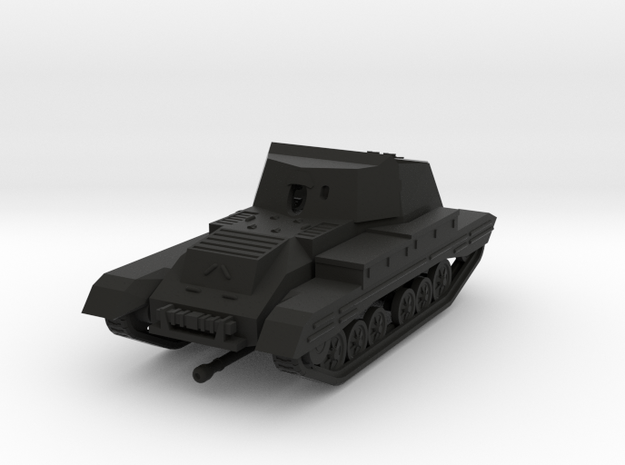 Vehicle- Valentine Archer Tank (1/87th) 3d printed