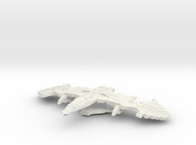 Battlehawk Class Battleship 3d printed