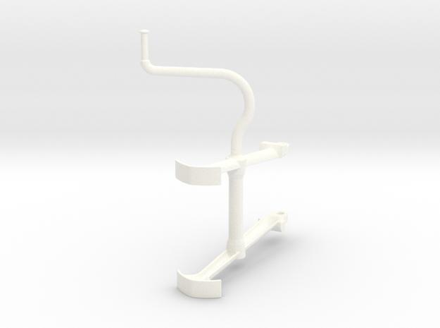 BSA E35 stand model scale 1/6 in White Processed Versatile Plastic