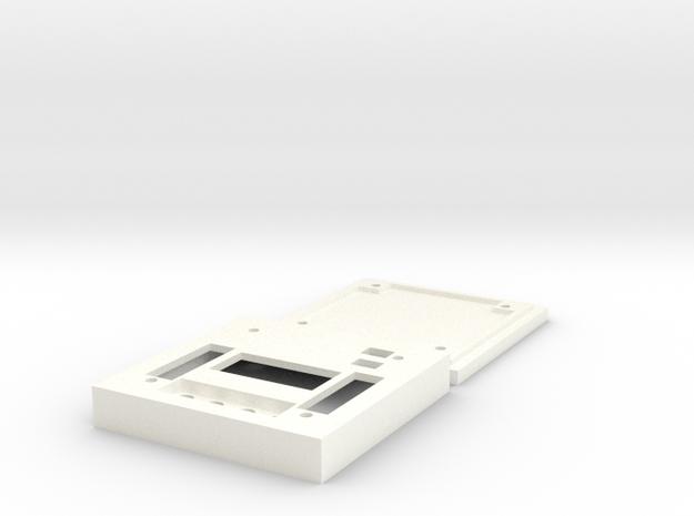 KK2 Flight Controller Kit (Top & Bottom) in White Processed Versatile Plastic