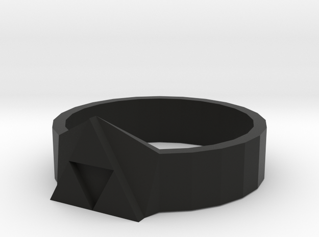 Tri-Force Ring (size 10 Ring) 3d printed