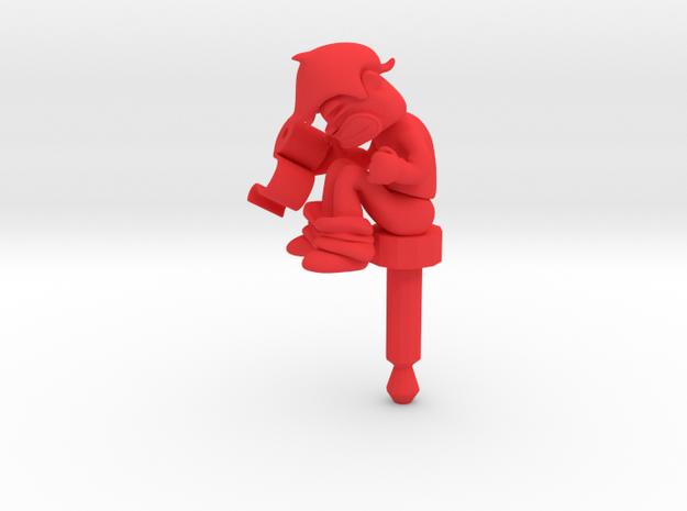Toilet, Jack Protector Audio 3d printed