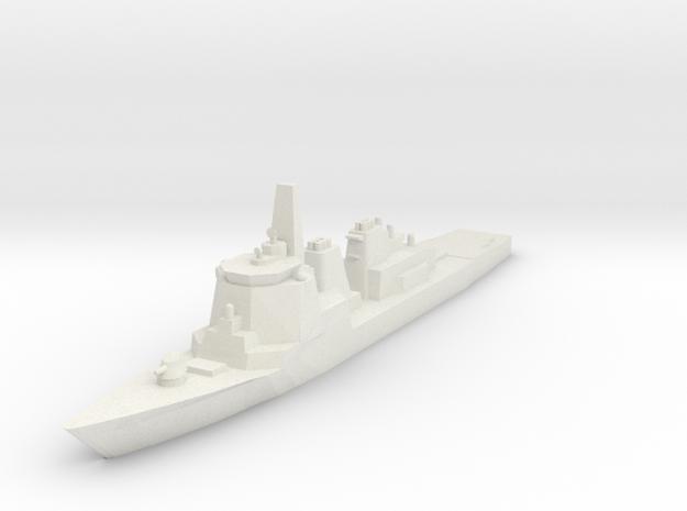 Kongo 1:1200 x1 in White Natural Versatile Plastic
