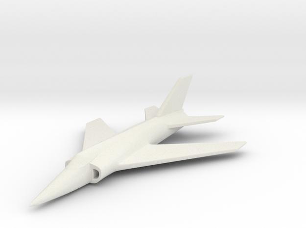 1/200 Scale Nanchang Q-5  in White Natural Versatile Plastic