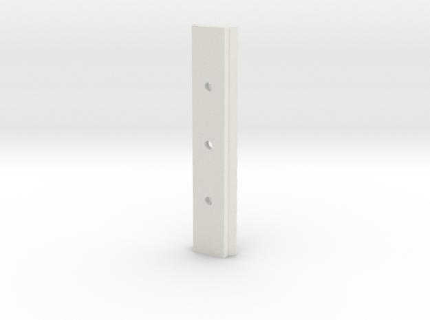 10cm long Picatinny Rail 3d printed