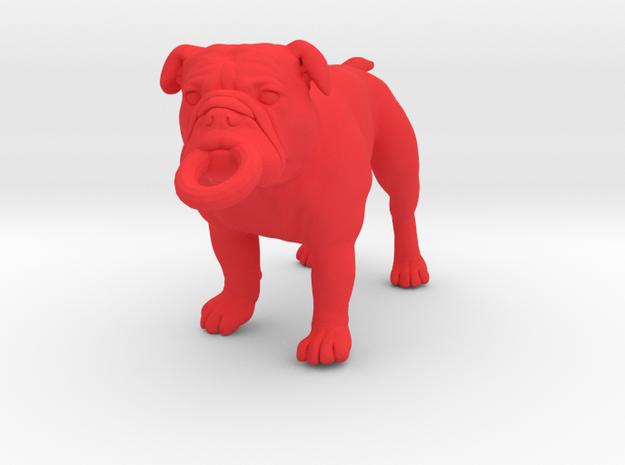 Bulldog Keychain 3d printed