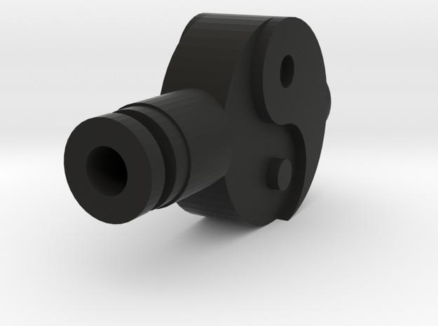 Yin Yang Drip Tip in Black Natural Versatile Plastic