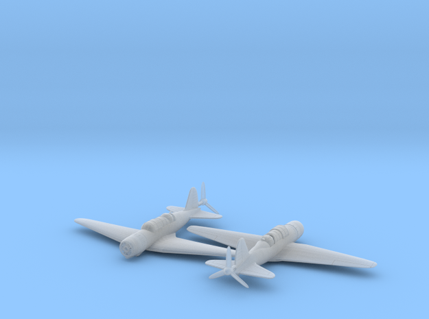 1/144 Sukhoi SU-2 x2 3d printed