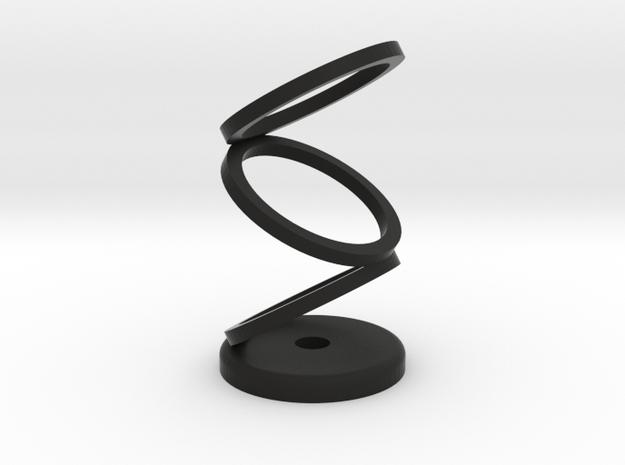 45 Rpm Adaptor optical illusion 3d printed