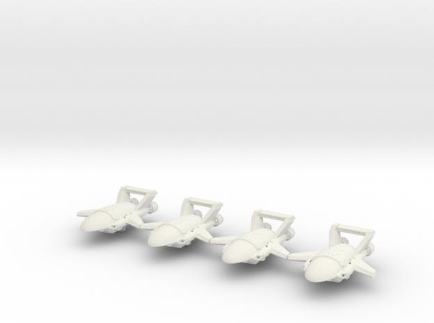 Xxcha Carrier Fleet in White Natural Versatile Plastic