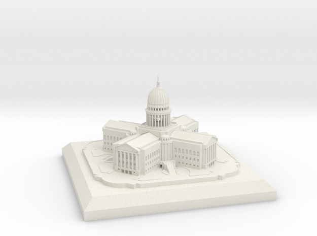 Madison WI, Capitol Building 3d printed