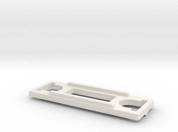 Thigh Ratchet for CDMW-36 Predaking Thighs in White Natural Versatile Plastic
