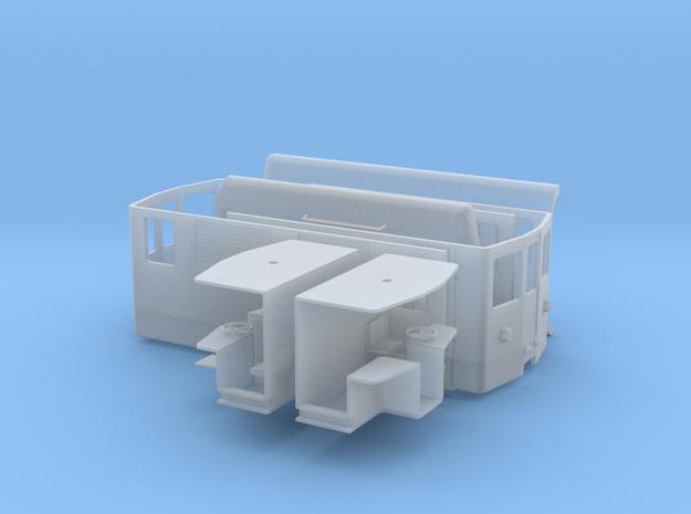 Cj 401 DE 4/4' 1:45 in Smooth Fine Detail Plastic