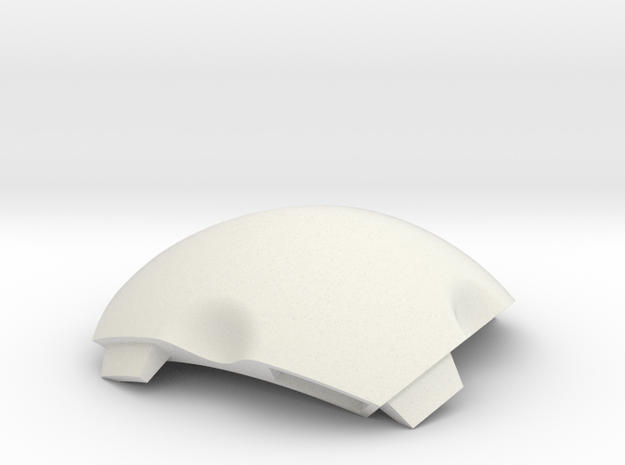 NSphere Palm (tile type:2) in White Natural Versatile Plastic