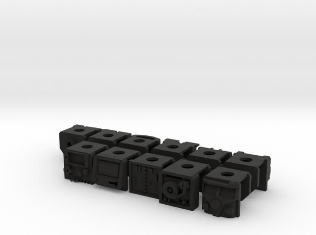 Original Retro Vests V1 (eleven vests) 3d printed