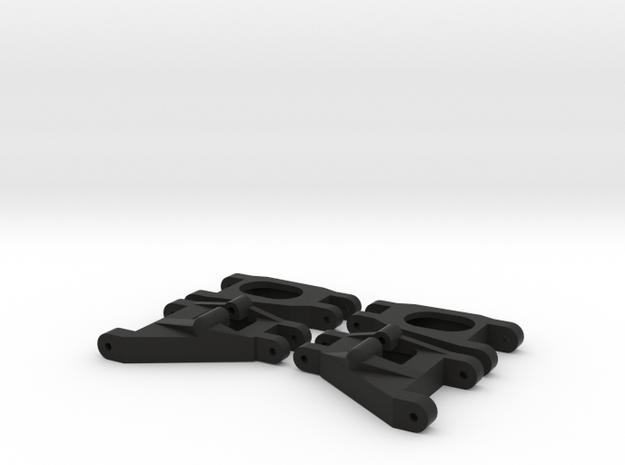 Wishbone Set 4 in Black Strong & Flexible