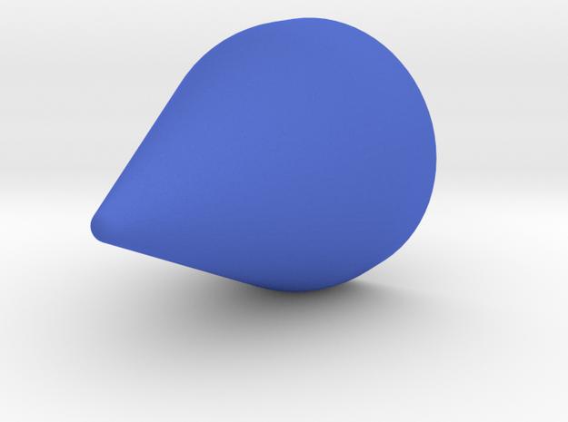 Magnetic Horn Earring (Clip) 3d printed
