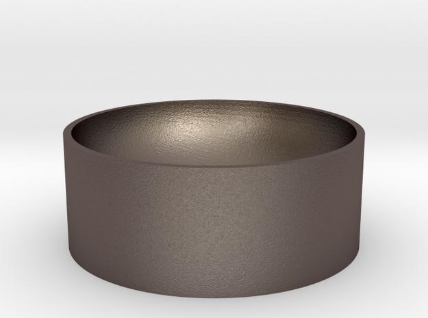 Vesselceramic in Polished Bronzed Silver Steel