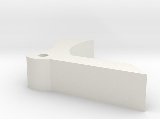 DC17 Guard in White Natural Versatile Plastic