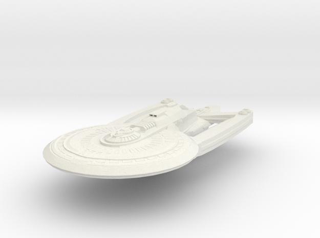 Alaska Class HvyCruiser Refit B in White Strong & Flexible