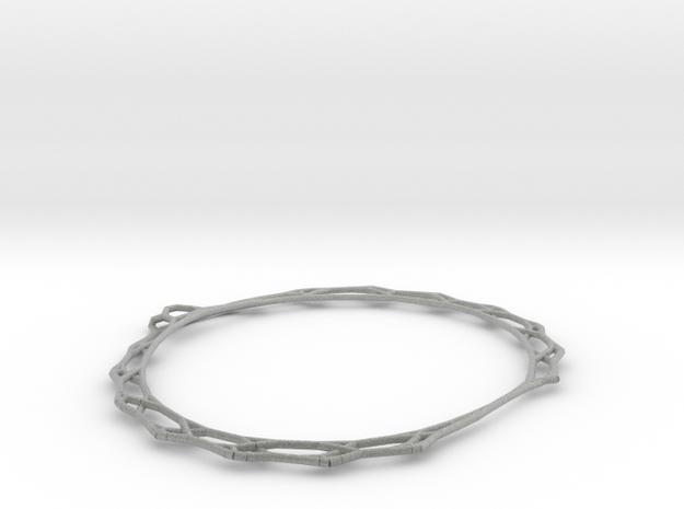 Network Bracelet in Metallic Plastic