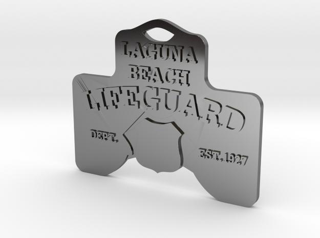 Laguna Beach Insignia Jewerly Charm (thin) 3d printed
