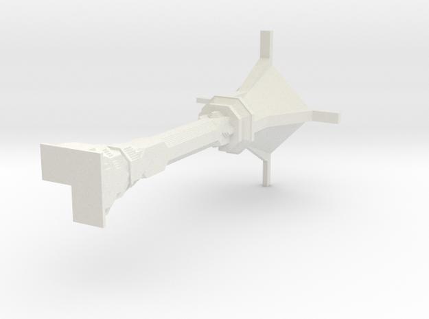 Dwarven Column Outer Corner 3d printed